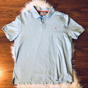 Penguin Munsingwear Polo Shirt Light Blue Size XL